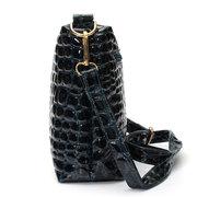 Stylish Crocodile Pattern Crossbody Bag