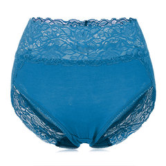Sexy Lace Modal High Waist Panties Breathable Colorful Underwear For Women