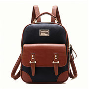 Stylish Faux Leather Vintage Backpack