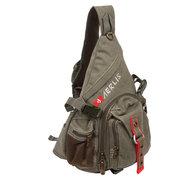 AERLIS Мужчины Холст Путешествия Спорт Свободный Грудь сумка сумки на ремне