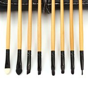 24Pcs Soft Makeup Brushes Kit Portable Eyeshadow Brush Cosmetic With Pouch Bag