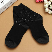 Ladies Snowflake Design Warm Winter Thermal Extra Thick Hiking Boot Socks