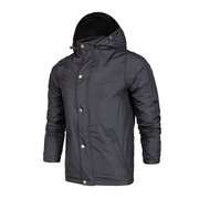 Outdoor Wind-Resistant Rain-Proof Breathable Thin Detachable Hood Sport Trench Coat For Men