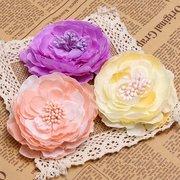 Flower Hair Clips Bride Wedding Corsage Brooch Bridal Headpieces