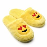 Big Size Expression Face Cute Slip On Indoor Floor Slipper
