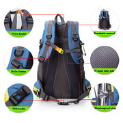 40L Men Women Large Capacity Nylon Travel Backpack Outdoor Sport Hiking Camping Backpack