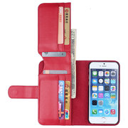 Women Men PU Leather Cell Phone Holder Case Phone Wallet For iPhone6 iPhone6S