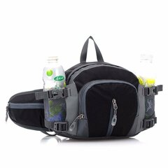 Men Waterproof Sports Waist Bag Multifunctional Outdoor Crossbody Bag