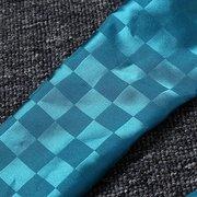 Женщины Модный синий бисера шарфы Смола Кулон ожерелье ювелирных изделий шарф