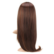 Womens Girls Cosplay Party Long Straight Hair Piece Full Wigs