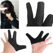 Жаропрочных тремя пальцами перчатки Дизайн для выпрямления волос для керлинга парикмахерского