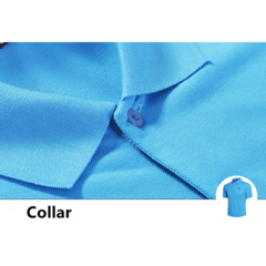 Spring Summer Mens Turn-down Collar Solid Color Cotton Polo Shirts