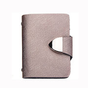 Men Women Cowhide Pocket Business Credit ID Card Holder Case Wallets 26 Cards Slots