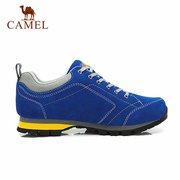 Camel Men Anti Skip Shock Absorption Lace Up Outdoor Sport Hiking Shoes