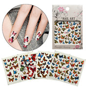 Butterfly Nail Art Sticker Decoration Manicure Tips Water Transfer Decals