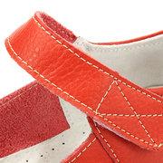 Большой размер Loop Хук Pure Color Плоский Балетные мягкие удобные кожаные ботинки