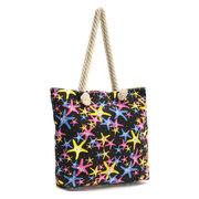 Многоразовый Морская звезда Холст сумка для путешествий Покупки Tote Сумочка