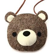 Прекрасные Медведь Хлопок сумка плеча