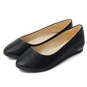 Fashion Pure Color Pointed Toe Flat Shoes