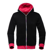 Mens Hoodies Contrast Solid Color Fashion Casual Sport  Hooded Tops