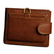 Men Cowhide Wallet Genuine Leather Wallet Purse Business Wallet