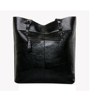 Stylish Elegant Large Capacity PU Leather Shoulder Bag