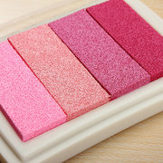 DIY Multi Colors Ink Pad Oil Based For Rubber Stamps Paper Wood Fabric