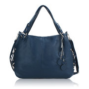 Women Vintage Pendant PU Leather Casual Handbag Crossbody Bag