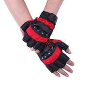 Men Breathable Mesh Gloves Half Finger Outdoor Cycling Sports Tactical Gloves