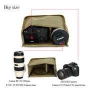 Shockproof SLR Camera Inner Tank Photography Protective Casing
