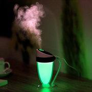 Мини Кубок Moonlight Увлажнитель LED Night Light Атмосфера бытовой увлажнитель воздуха 4-х цветов