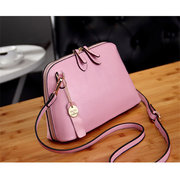 Lovely Candy Color PU Leather Handbag Shoulder Bags Crossbody Bags For Women