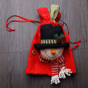 Christmas Decorations Draw String Creative Storage Bags