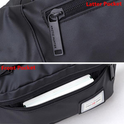 Waterproof Crossbody Bag Multifunctional Oxford Chest Waist Bag For Man