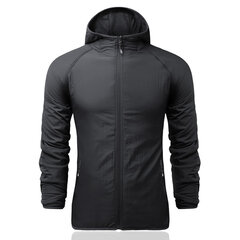 Outdoor Reversible Garment Sunlight-Protective Breathable Sport Hooded Jacket For Men