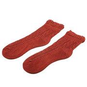 Женщины Хлопок Sweety выдалбливают Тонкие переплетения Трикотажное Низкие носки