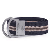 Mens Canvas Stainless Steel Buckle Belts Casual Waistband