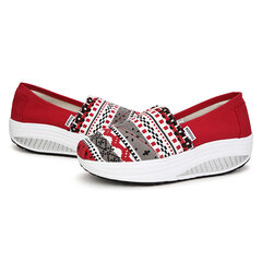 Casual Canvas Platfrom Swing Shake Shoes