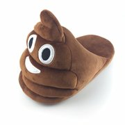 Canton Shit Brown Face Home Slip On Cute Flat Slippers