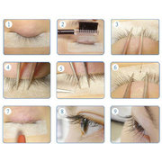 Eyelash Lash Eyelashes Wave Curling Perming Curler Rod Glue Perm Set