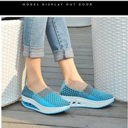 Hand Knitting Woman Casual Shoes Slimming Weight Loss Shoes