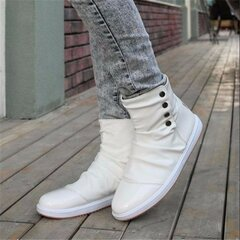 Casual Slip On Soft Mesh Inside Men Button Soft Shoes