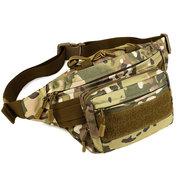 Tactical Outdoor Riding Nylon Waist Bag Leisure Travel Running Capacity Man Bag