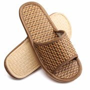 Unisex Bamboo Flat Indoor Home Shoes
