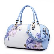 Women Vintage Chinest Style PU Handbag Crossbody Bag