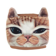 Women Cute Cat Tiger Face Cycling Anti-Dust Cotton Mouth Face Mask