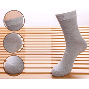 5 Pairs Set Business Cotton Three Brief Styles Deodorant Breathable Socks For Men