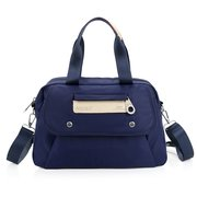 Women Oxford Waterproof Shoulder Casual Satchel Bag Multi-pocket Crossbody Bag