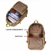 Multifunctional Travel Backpack Waterproof Dacron Camouflage Solid Bag For Man