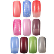 11ml Temperature Change Color-changing Nail Art Polish Lacquer Shiny Peel Off Soak Off